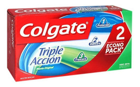 Crema Dental Colgate Triple Acción 100ml. 2pack