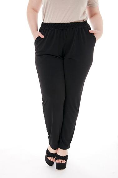 Pantalon Jogging Lanilla Mujer Talle Grande Abrigado Casual