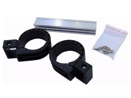 10 Kit Suporte Carona Lnb Universal C/ Haste Alumínio 11 Cm