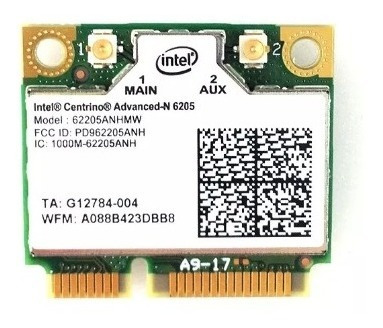 Placa Pci Wireless Notebook Intel Centrino Advanced N 6205