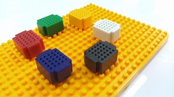 Mini Protoboard 25 Pontos C/ Base Lego P/ Montagem Arduino