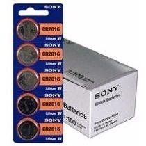 Bateria Lithium 3v Sony Cr2016 Original 05 Unidades