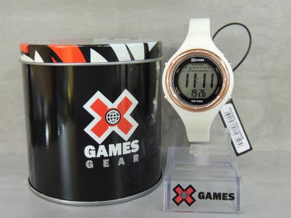 Relógio Feminino Digital X Games Mod: Xfppd036 Bxbx ( Nf)