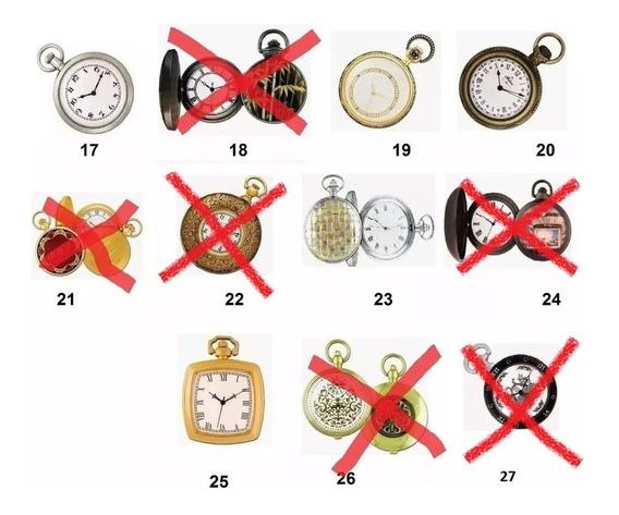 Coleção Relógios De Bolso Históricos (15 Un)