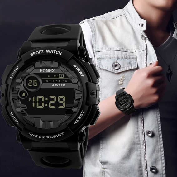 Relógio De Pulso Masculino Esporte Analógico Honhx
