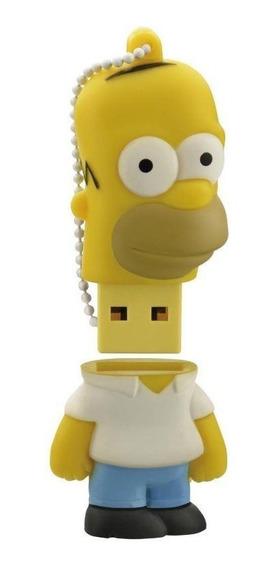 Pendrive Simpsons Homer 8gb Multilaser Pd070 Usb 2 Original