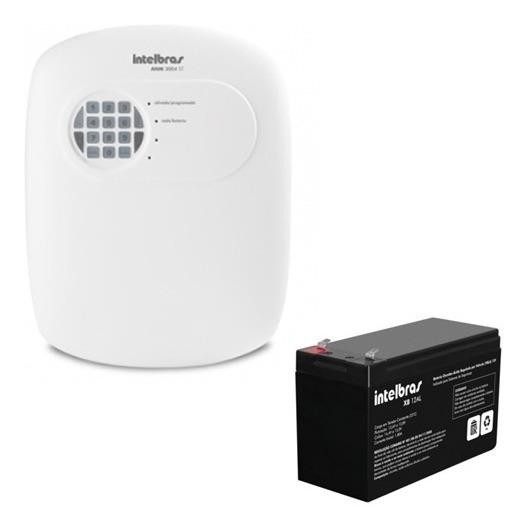 Central Alarme Intelbras Anm 3004 St + Bateria 12al Full