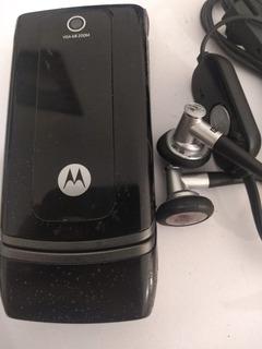 Celular Motorola W375 - Com Fone E Caixa - Aproveitar Peças
