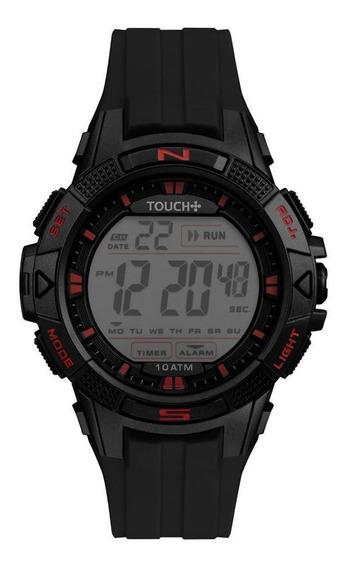Relógio Touch Masculino Preto Twlcdab/8p