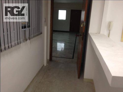 Sala Comercial No Centro De Santos Sp - Sa0214