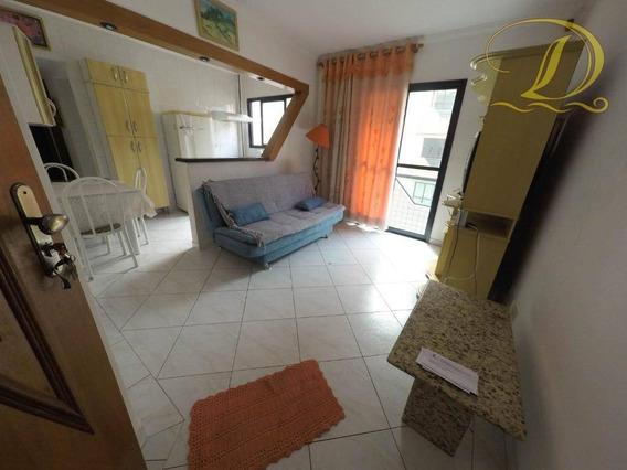 Apartamento De 1 Quarto Com Sacada Para Locação Definitiva Em Praia Grande!!! - Ap2705