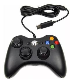 Joystick Manete Controle Feir Xbox 360 Com Fio Usb Cabo 2,5m
