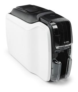 Impresora Tarjetas De Pvc Carnet Zebra Zc100 Banda Magnetica
