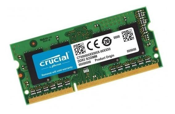 Memoria Sodimm Ddr4 4gb 2666mhz Crucial Smarts