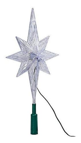 Estrella Polar Kurt Adler Para Arbol De Navidad Con Luz Led