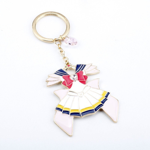 Imagen 1 de 4 de Llavero Sailor Moon Vestido Anime