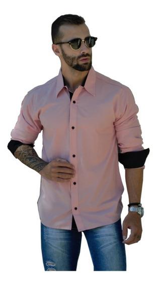 Camisas Social Masculina Slim - Atacado - Promoção Pp Ao Gg