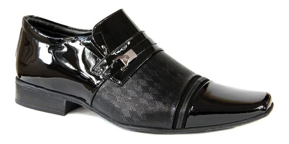 Sapato Jota Pe Masculino 73273 - Verniz Preto