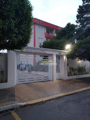 Apartamento Com 2 Dormitórios À Venda, 66 M² Por R$ 250.000,00 - Vila Dainese - Americana/sp - Ap0715