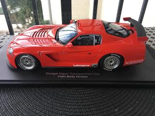 Autoart 1/18 80420 Dodge Viper Competition Coupe Plain Body