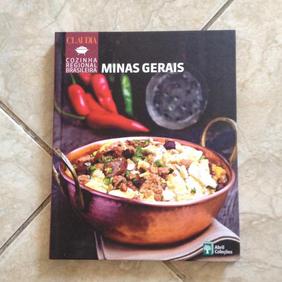 Livro Claudia Cozinha Regional Brasileira Minas Gerais C2