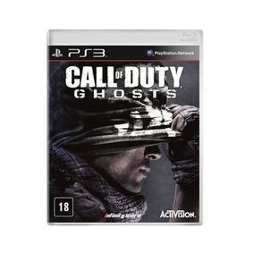 Jogo Call Of Duty Ghosts Ps3 Midia Fisica Original Seminovo