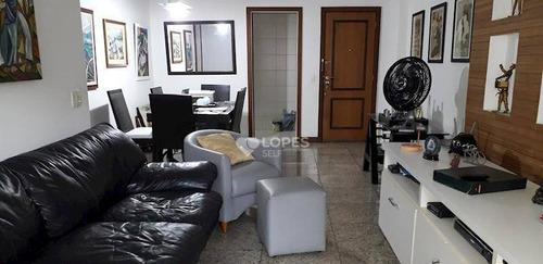 Apartamento Com 3 Quartos, 125 M² Por R$ 1.100.000 - Icaraí - Niterói/rj - Ap31716
