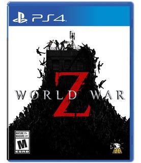 World War Z Ps4 Nuevo Fisico Sellado Envio Gratis