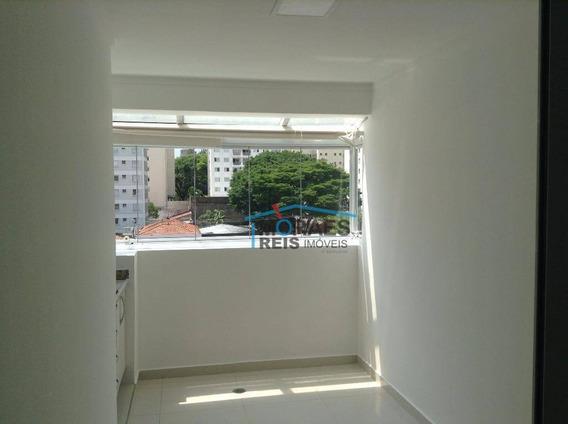 Apartamento Com 1 Dormitório Para Alugar, 45 M² Por R$ 2.300,00/ano - Alto Da Boa Vista - São Paulo/sp - Ap12440