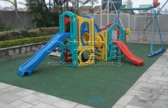 Apartamento Com 3 Dormitórios Para Alugar, 190 M² Por R$ 3.000 - Vila Valparaíso - Santo André/sp - Ap1844