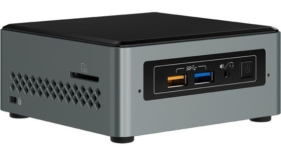 Mini Pc Kit Intel Nuc Boxnuc6cayh 4gb Ssd 120gb Celeron