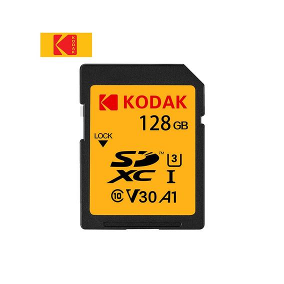 Cartão Sd Kodak U3 128 Gb Cartão De Memória Uhs-i Alta Veloc