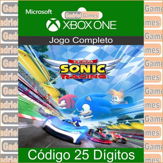 Team Sonic Racing Xbox One Código 25 Dígitos Oficial