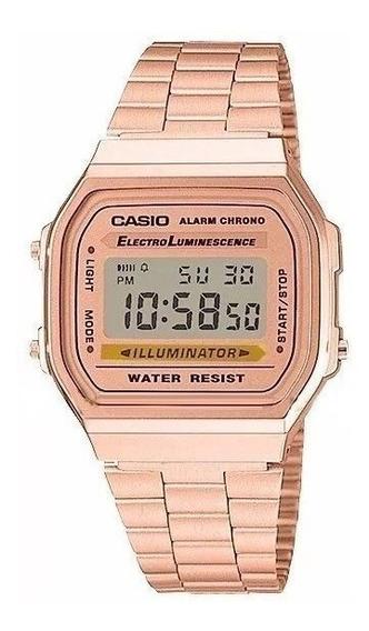 Relogio Casio Rose +caixa - Liquidação Ca02