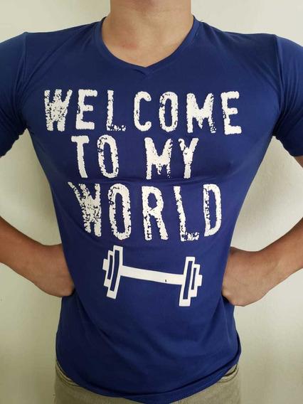 Camisetas/playeras De Licra Y Algodón Con Estampado 3d
