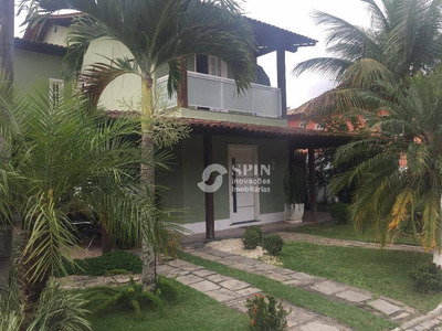 Casa Residencial À Venda, Badu, Niterói. - Ca0337