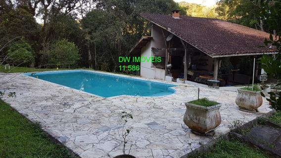 São Lourenço Da Serra/belo Sitio Com Piscina /riacho/lazer/morar - 04915 - 34437161
