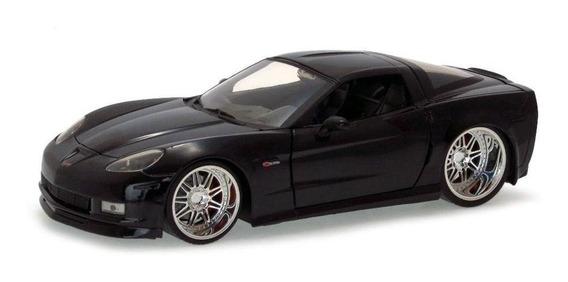 Chevy Corvette 2006 Z06 Jada Toys 1/24 Preto