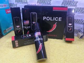 Gas Pimienta Americano Police Defensa Personal Grande 110 Ml