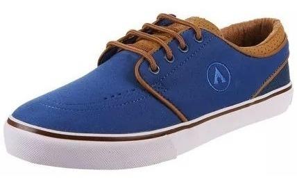 Zapatillas Airwalk Junior Eighty Six Azul Tabaco Liquidación