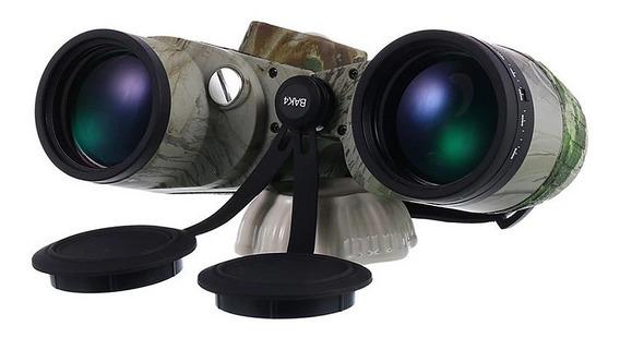 Binoculo Telescopio Boshile 10x50 Hd Bak4 À Prova D