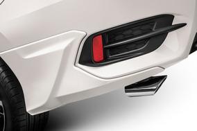 Ponteira De Escapamento Honda Civic 2017 A 2019 Geração 10