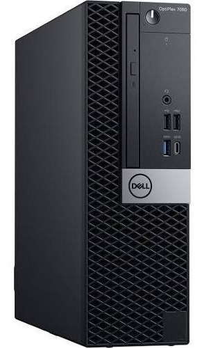 Dell Desktop Optiplex 7060 Sffl Core I7 8ªger 16gb Ssd 256gb
