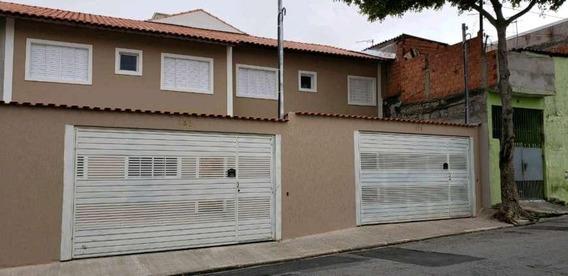 Sobrado Em São Miguel Paulista, São Paulo/sp De 57m² 2 Quartos À Venda Por R$ 305.000,00 - So454778
