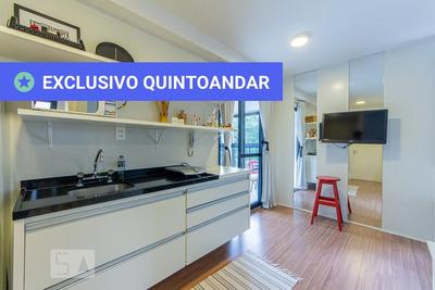 Studio No 4º Andar Mobiliado Com 1 Dormitório E 1 Garagem - Id: 892934114 - 234114