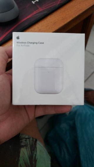 Case Da Carregamento Wireless Apple AirPods Original 1 Ou 2g