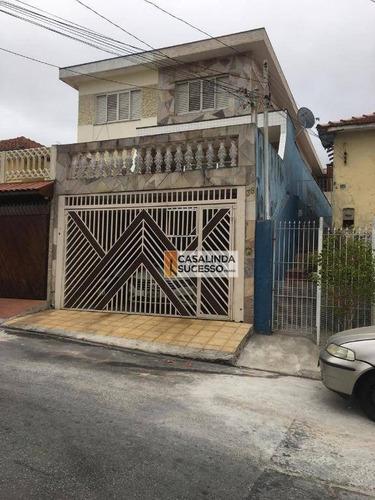 Sobrado Com 3 Dormitórios À Venda, 110 M² Por R$ 600.000,00 - Jardim Maringá - São Paulo/sp - So0972