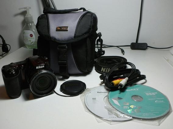Cámara Nikon Coolpix L820 + Bolso Protector + Correa