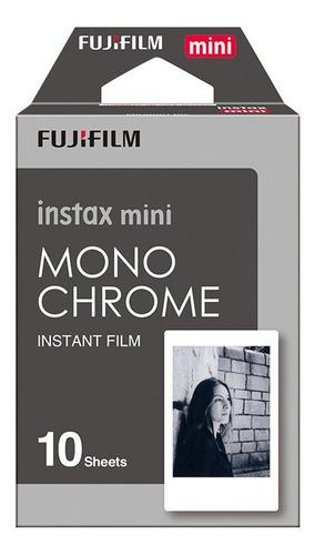 Imagen 1 de 3 de Pelicula Instax Mini Monocromatica 10 Hojas