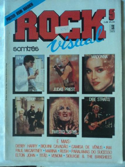 Revista-rock Visual:somtrês:#5:poster:iron Maiden:rush,venom